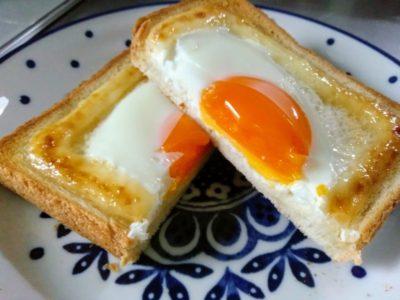 卵マヨトースト完成